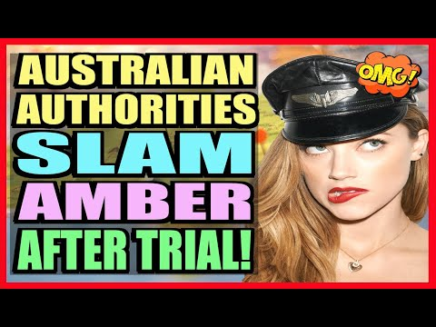 Amber Heard SLAMMED By Australian Authorities! She'd Face Perjury if she Returned!
