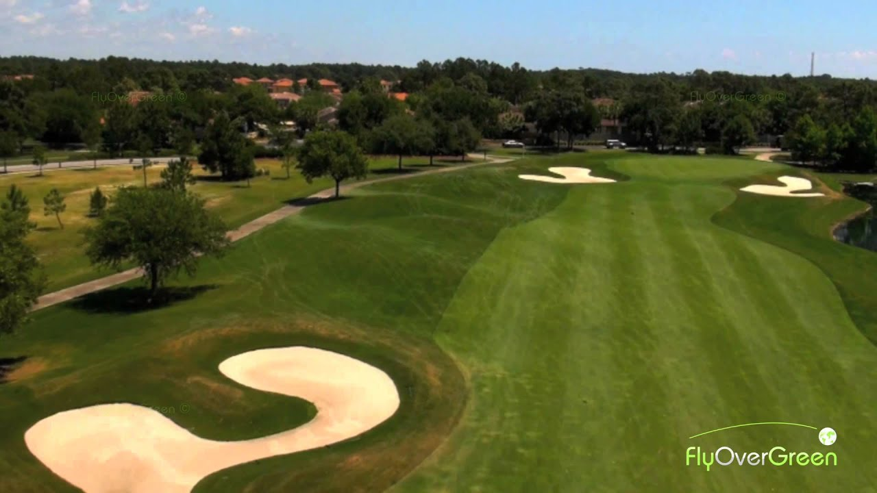 Burnt Pine Golf Club Drone Aerial Video Burnt Pine Hole 15 Youtube