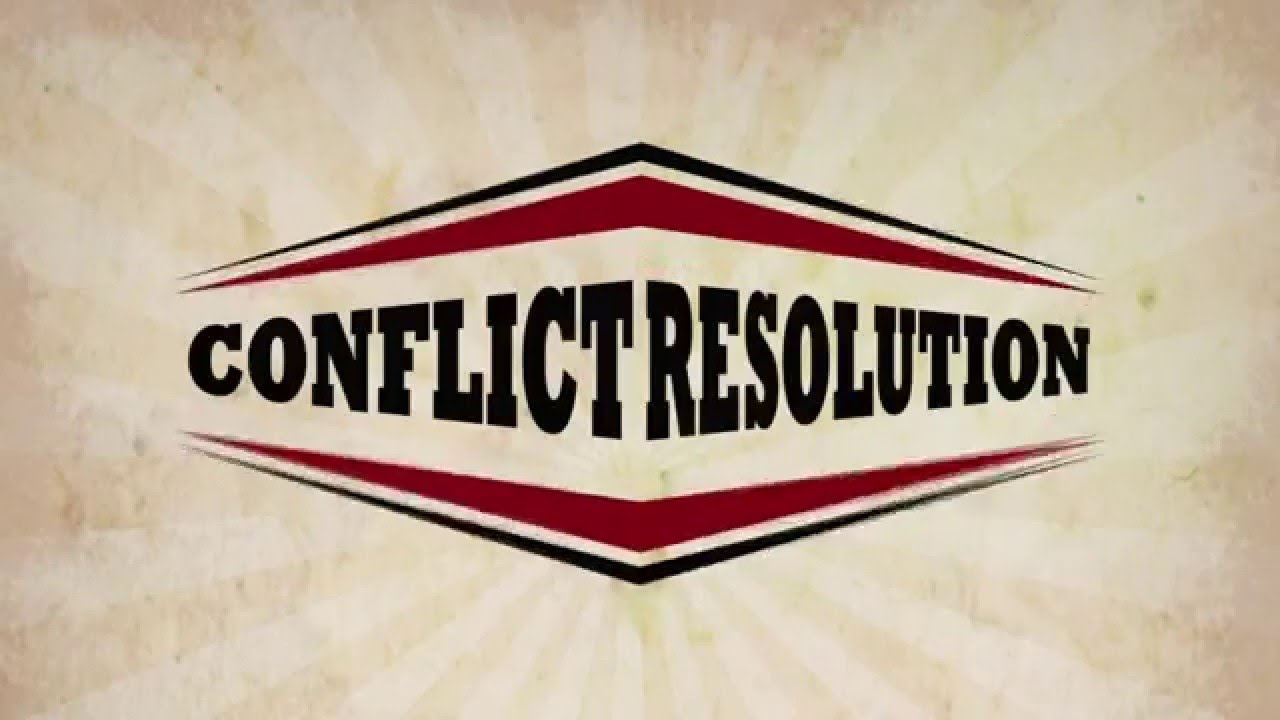 Adult conflict resolution