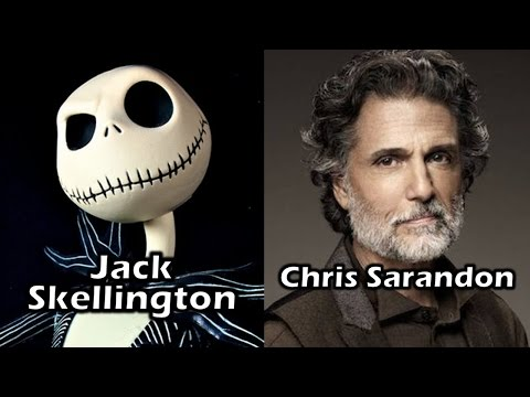 Characters and Voice Actors - The Nightmare Before Christmas