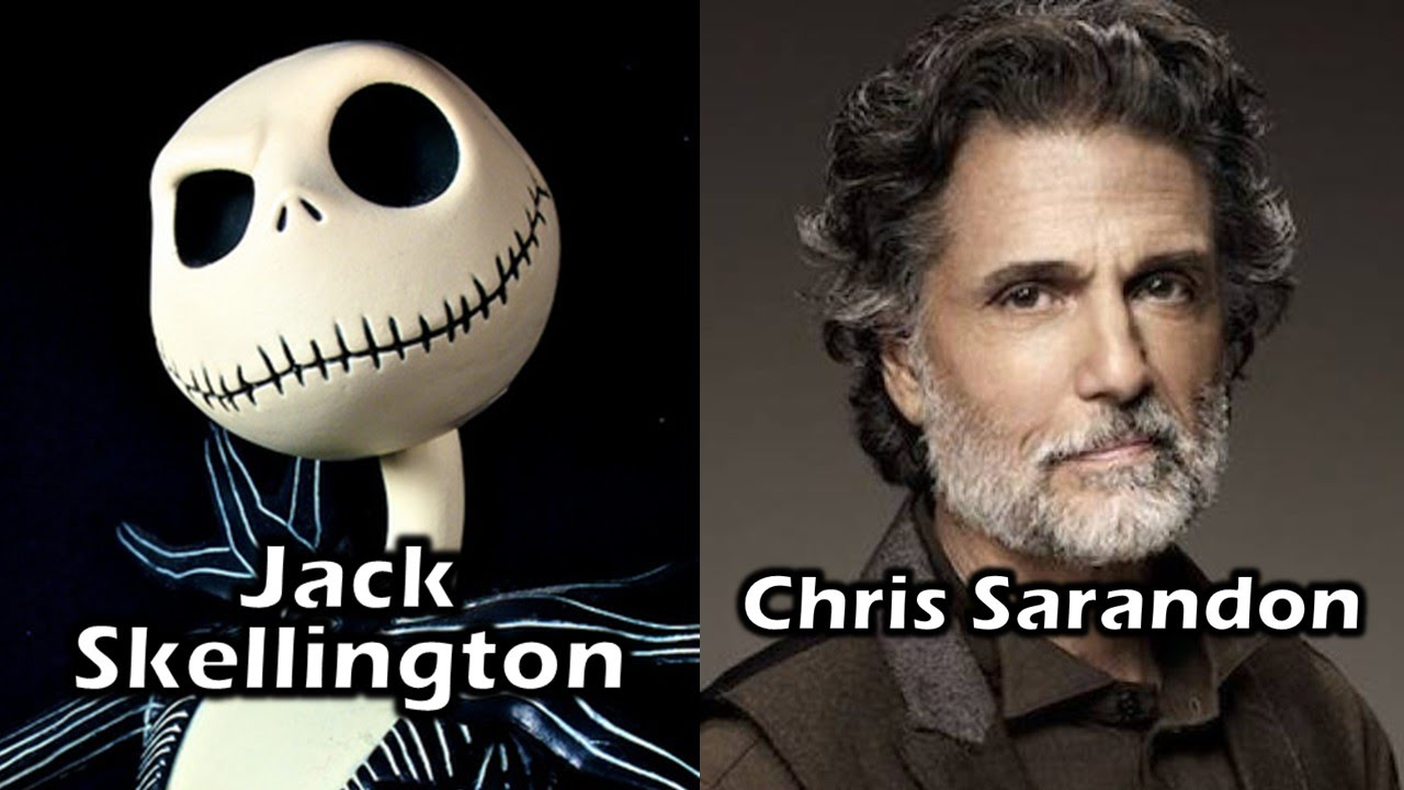 Characters and Voice Actors - The Nightmare Before Christmas - YouTube