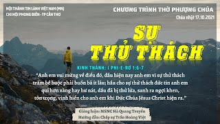 HTTL PHONG ĐIỀN - Chương Trình Thờ Phượng Chúa - 17/10/2021
