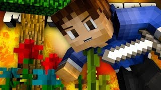 DEFENDING THE TREE OF LIFE! (Minecraft: EPIC KIT PVP with Woofless and Preston!)