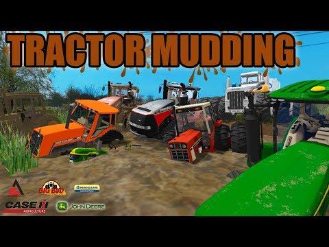 MUDDING MONDAY | MUD BOG | TRACTOR MUDDIN' | FARMING SIMULATOR 2017