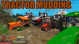 MUDDING MONDAY | MUD BOG | TRACTOR MUDDIN' | FARMING SIMULATOR 2017
