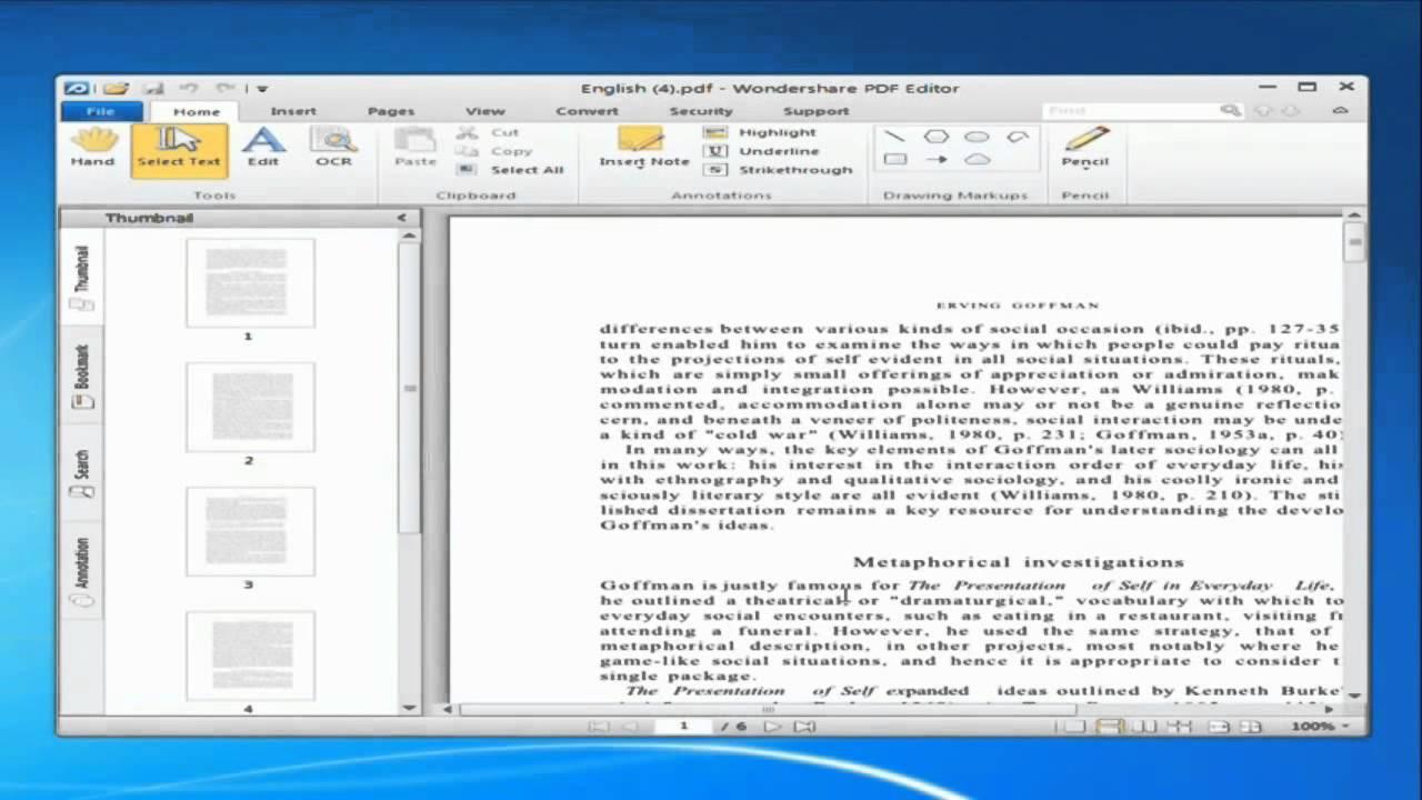 escaneando em pdf