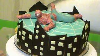 "Торт ""Человек паук"""