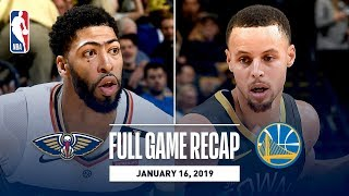 Full Game Recap: Pelicans vs Warriors | New Orleans & Golden State Combine To Hit 43 Three-Pointers