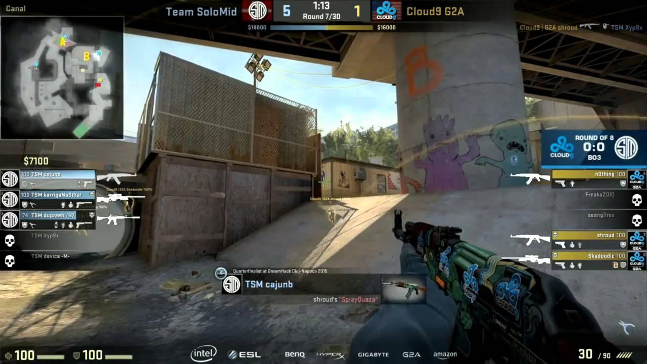 C9 Shroud aim & reflex