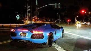 Driving an Armytrix Lamborghini Aventador Roadster in Beverly Hills