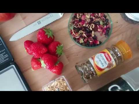 Strawberry gin - The Lab Brewer - mylabstory.com - how to make your own gin - Gin Kit
