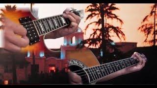 EAGLES HOTEL CALIFORNIA GUITAR SOLO (ONE MAN LIVE)