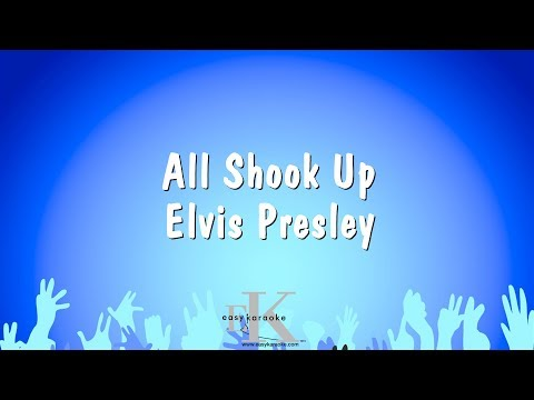 All Shook Up - Elvis Presley (Karaoke Version)