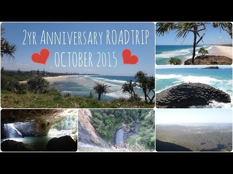 2yr Anniversary Road Trip | Beach and Mountains | October 2015 VLOG