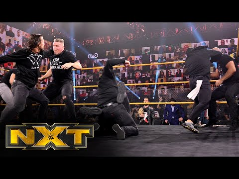 Finn Bálor lures Pat McAfee & company into a brawl with Undisputed ERA: WWE NXT, Nov. 18, 2020