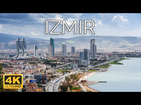Izmir, Turkey 🇹🇷 | 4K Drone Footage