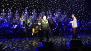Red Army Choir ;MVD. Director and Conductor ; Gen. Viktor ELISEEV in Ashdod- Israel. Jan . 2017