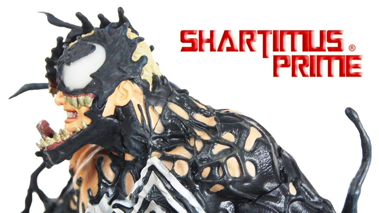 Venom Marvel Gallery Diamond Select Toys Comic Statue Review Youtube