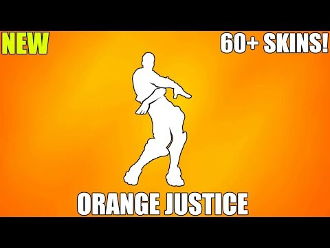 FORTNITE ORANGE JUSTICE EMOTE (1 HOUR)