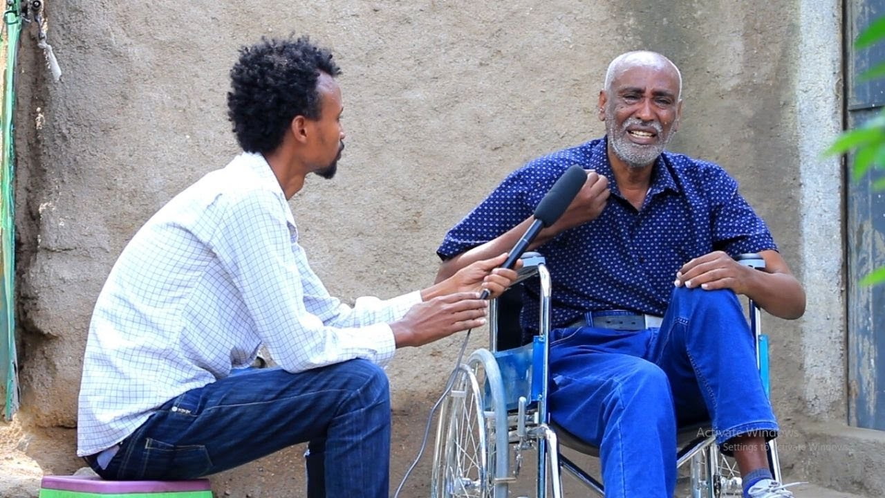ETHIOPIA - የእግር ኳሱ ሰዉ በዊልቸር