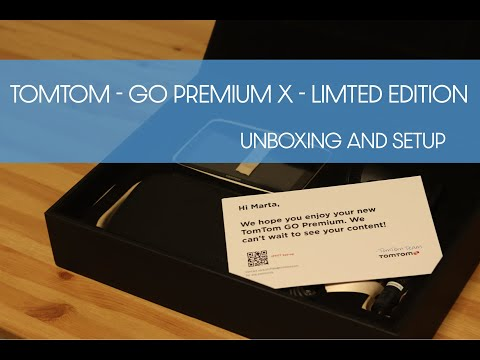 TomTom - Go Premium X - Limited Edition | Unboxing And Setup