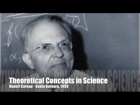 Rudolf Carnap (1959) - Theoretical Concepts in Science [audio]