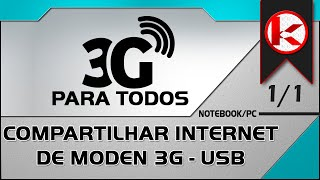 Como compartilhar internet 3g modem(Compartilhar internet 3G Wireless ou Cabo em apenas alguns minutos ! Qualquer operadora ! claro, vivo, oi, tim e etc. ======= LEIA-ME == Perguntas ..., 2012-08-21T03:56:21.000Z)