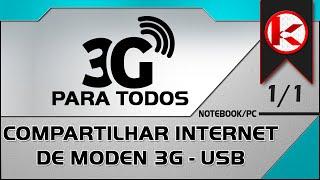 Como compartilhar internet 3g modem(, 2012-08-21T03:56:21.000Z)