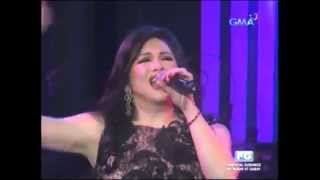 REGINE VELASQUEZ - Whitney Houston Medley (Voices Of Love Concert!)