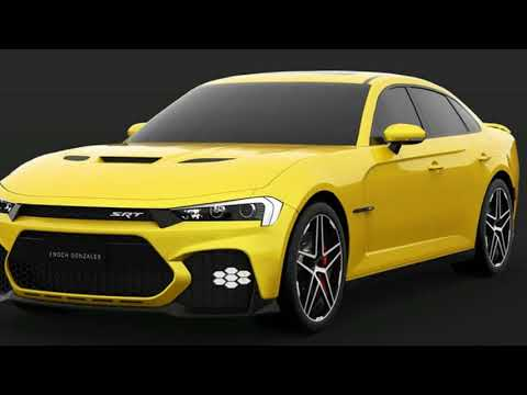 Dodge: Here's A Take On The Facelifted 2019 Dodge Charger SRT Hellcat