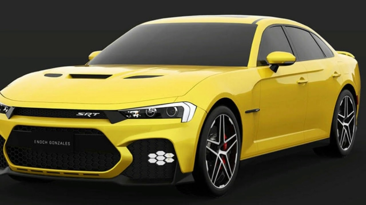 Dodge Here S A Take On The Facelifted 2019 Dodge Charger Srt Hellcat