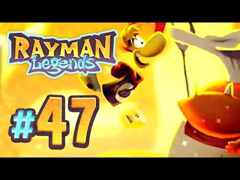 Rayman Legends - 47 - Back to Origins: Hot n' Spicy (4 Player)