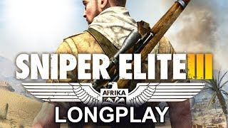 PS3 Longplay [019] Sniper Elite III - Full Walkthrough | No commentary