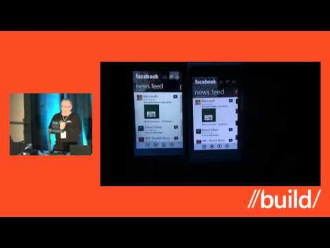 Build 2012 Windows Phone 8 Application Model