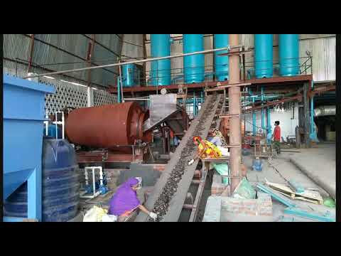 Cullet washing plant