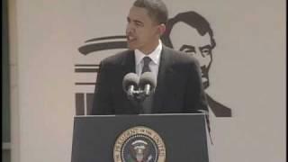 Senator Barack Obama Speaks About Abraham Lincoln at Museum Dedication