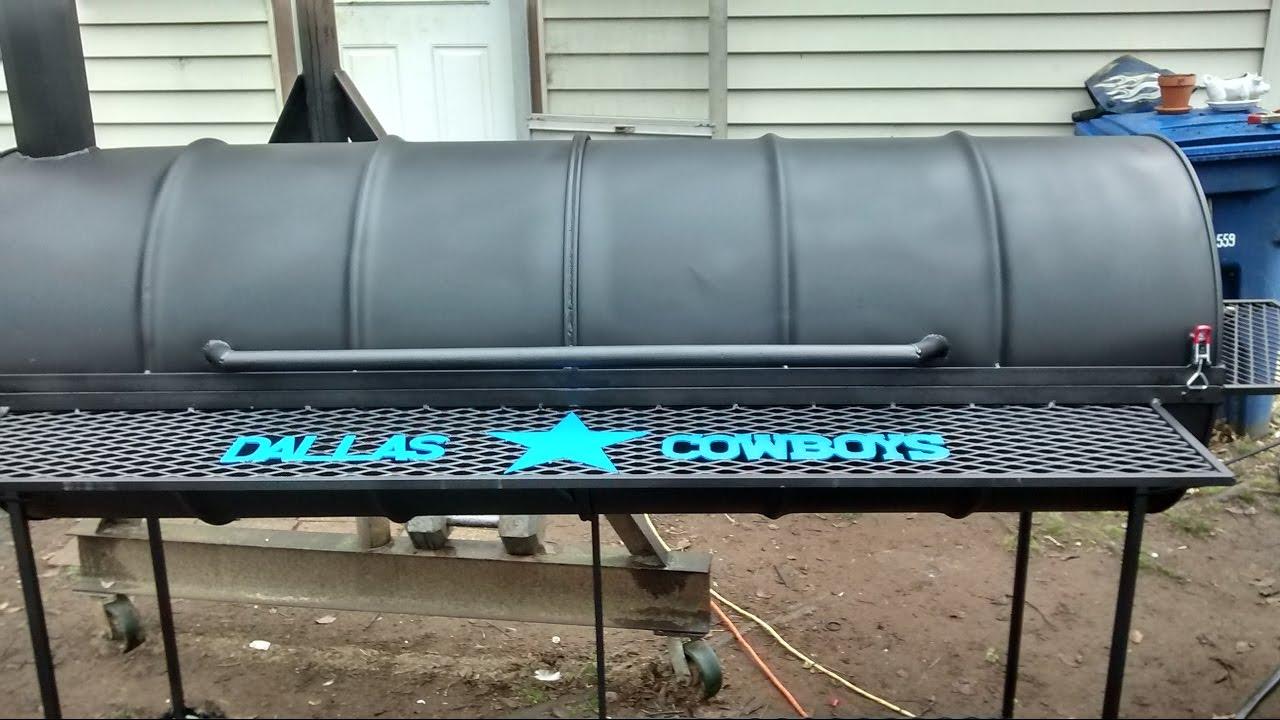 Dallas cowboys bbq pit