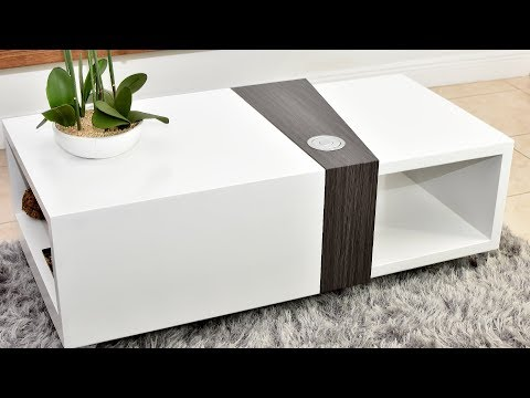 Modern Design automated coffee table