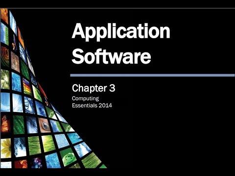 SEU CS001 CH6 Application Software