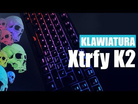 Mechaniczna klawiatura dla graczy od Xtrfy | TEST