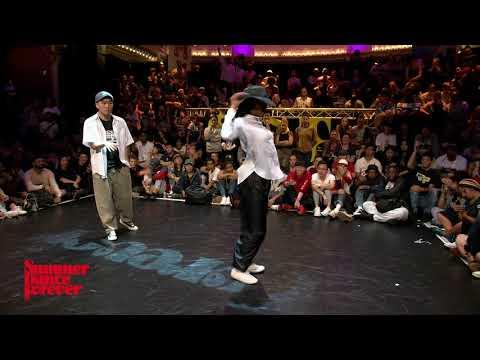 Jin vs Angyil 2ND ROUND BATTLES Popping Forever - Summer Dance Forever 2017
