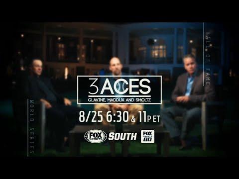 Sneak Peek: 3 Aces: Glavine, Maddux and Smoltz