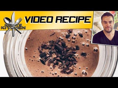 CHOCOLATE PEANUT BUTTER SMOOTHIE  Nickos Kitchen  YouTube