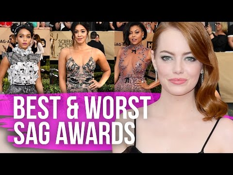 Best & Worst Dressed SAG Awards 2017 (Dirty Laundry)