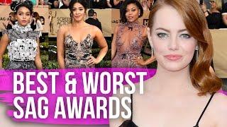 Best & Worst Dressed SAG Awards 2017 (Dirty Laundry)