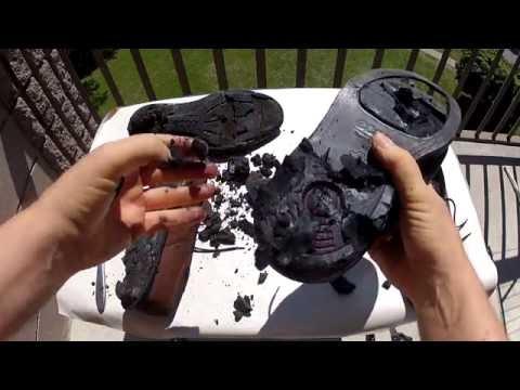 Ecco Shoe Review - Soles Disintegrate Into Tar Goo !!