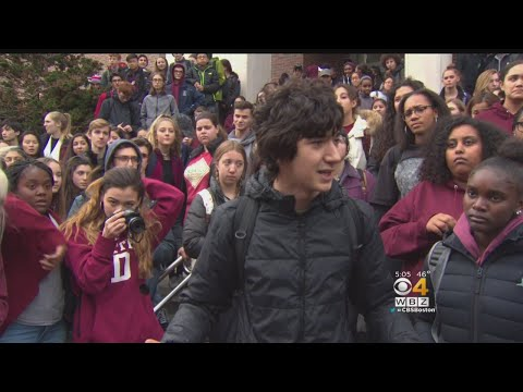 Brookline High School Students Walk Out Of Class After Racist Video