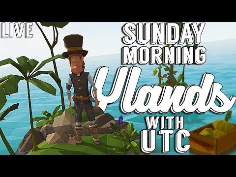 BUILDING THE PATREON COMMUNITY CENTER! :: Sunday Morning Ylands w/ UTC