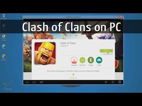Clash of Clans on PC for Windows XP/7/8/Vista/Mac