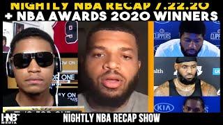 #TWOforONE 7.22.20: Nightlight Recap + NBA Award Picks w/ Darien Chill
